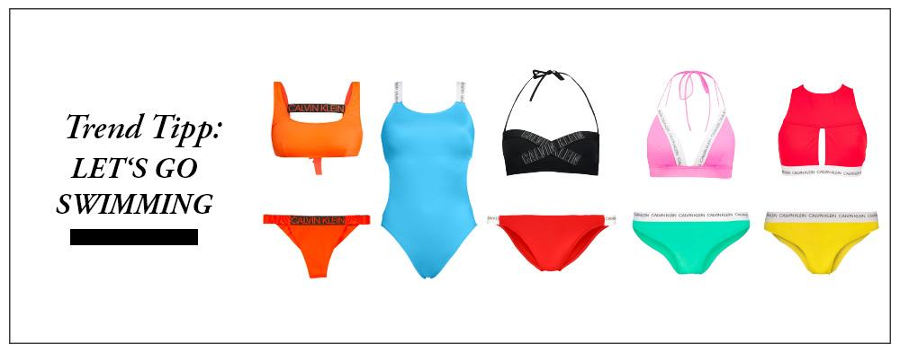 Let's go swimming - trend titel