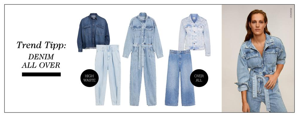 Denim all over - trend tipp