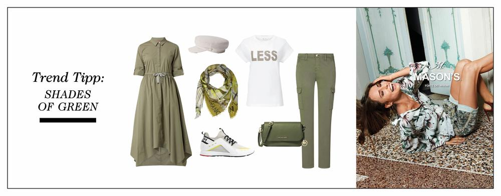 Shades of green - trend tipp